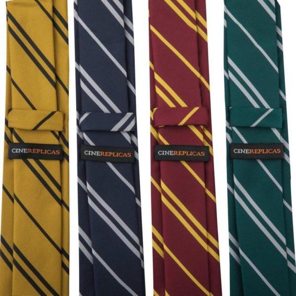 Hufflepuff Vävd Slips Vuxen Harry Potter