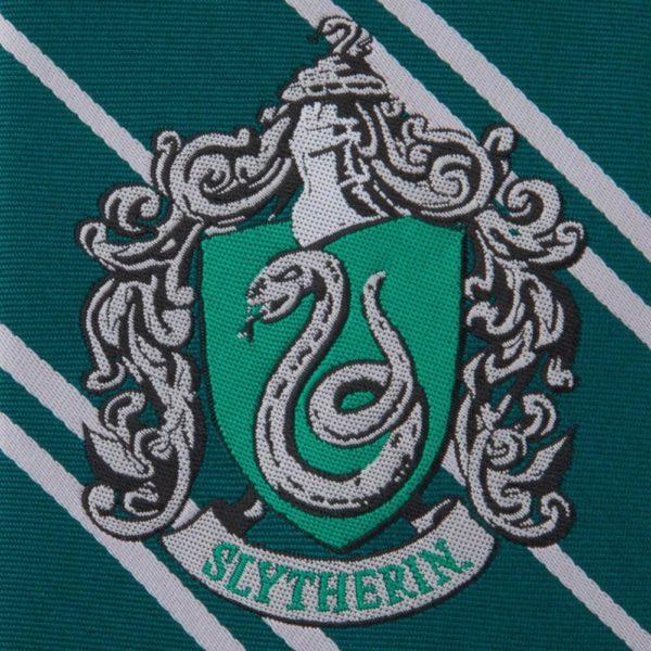 Slytherin Vävd Slips Vuxen Harry Potter