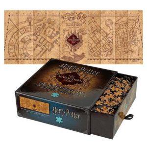 Marauder's Map Pussel 1000 Bitar Harry Potter