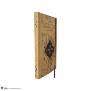 Marauder's Map Anteckningsblock & Vikbar Karta Harry Potter