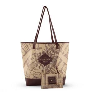 Marauder's Map Shoppingväska med Plånbok Harry Potter