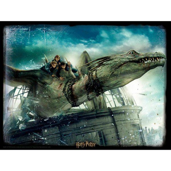 3D-Pussel 500 Bitar Harry Potter