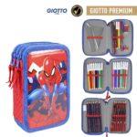 Spiderman Pennfodral 38st Giotto Premium-pennor Marvel