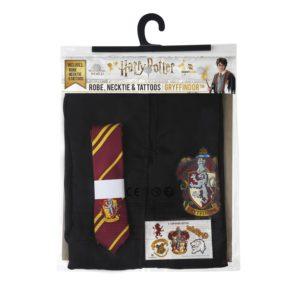 Gryffindor Kappa, Slips & Tatueringar (Vuxen) Harry Potter